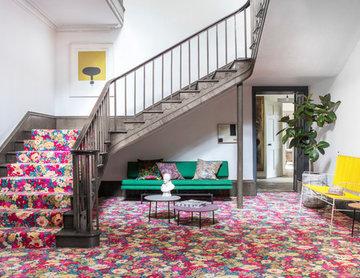Alternative Flooring - Liberty Fabrics Quirky B Flowers of Thorpe Summer Garden