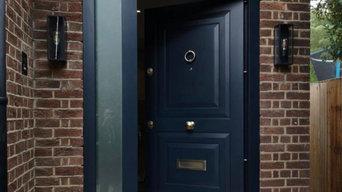Basalt Front & Playroom Door