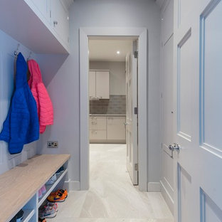 Beautiful Boot Room Leading to Utility Room