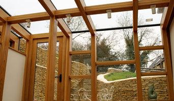 Bespoke timber framed glass extension