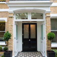 Traditional Entry by Alexander James Interiors