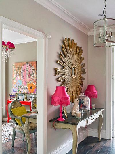 Eclectic Entrance By Noushka Design Ltd