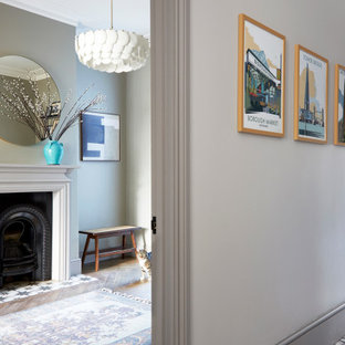 Design ideas for a classic entrance in London.