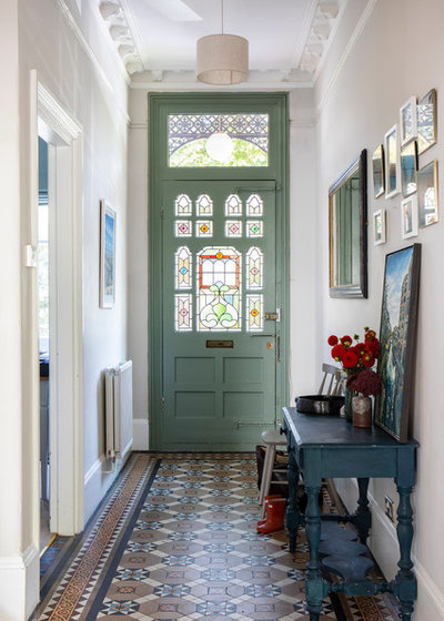 Traditional Entrance by Imperfect Interiors