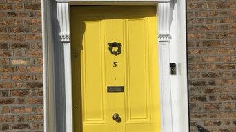 Georgian door restoration