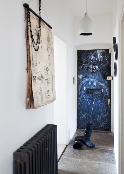 Eclectic Entrance by Paul Craig Photography