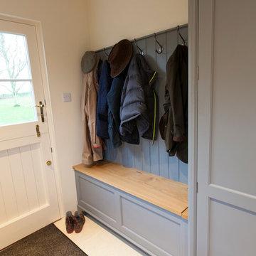 Handmade Bespoke Kitchen - Boot Room - Ashdon 'Grove'