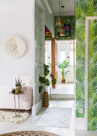 Eklektisch Eingang by Emilie Fournet Interiors