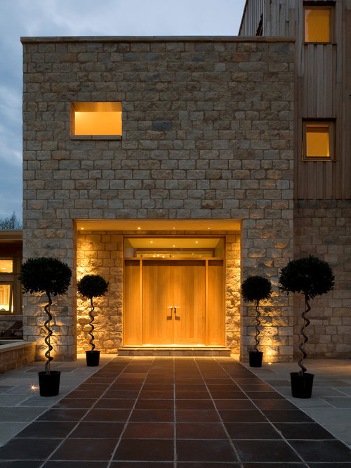 Front door lighting houzz for Modern front door lights