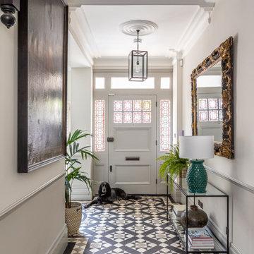 London Mosaic Floor Design