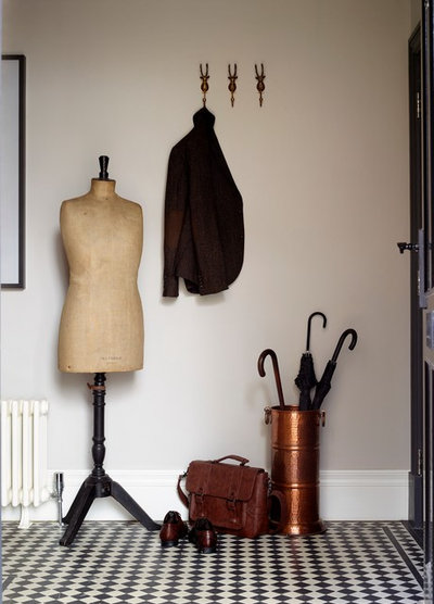 Eclectic Entrance by LOVE INTERIORS