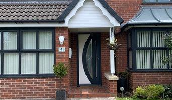 Modern Aluminium Front Doors