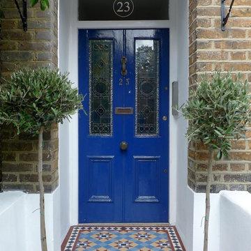 Multi Coloured Victorian Path Tiles 4