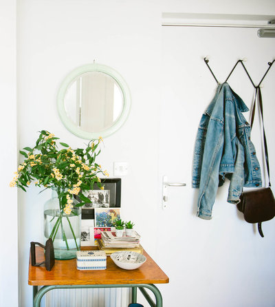 Scandinavian Entrance by Apartment Apothecary