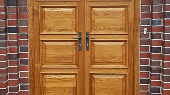 Oak Double Doors