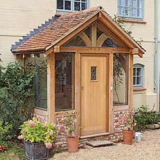 Kleiner Klassischer Eingang in Hampshire