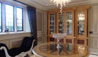 Residential display cabinet