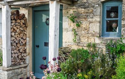 10 Beautiful Blue Front Doors