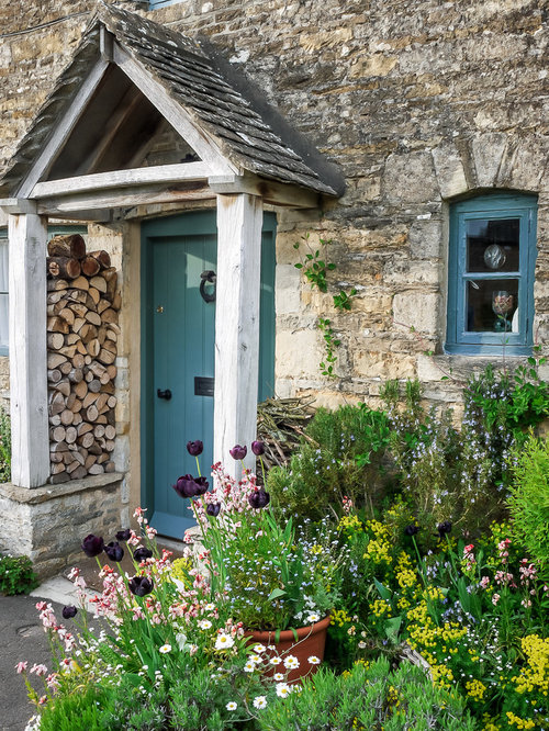 Cottage Style Entry Door Home Design Ideas Pictures