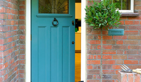 Colourful Front Doors That Welcome You Inside