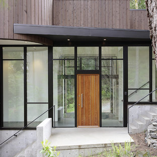This is an example of a contemporary front door in London.