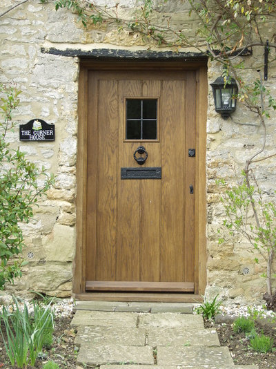 Country Entrance Rustic Entry