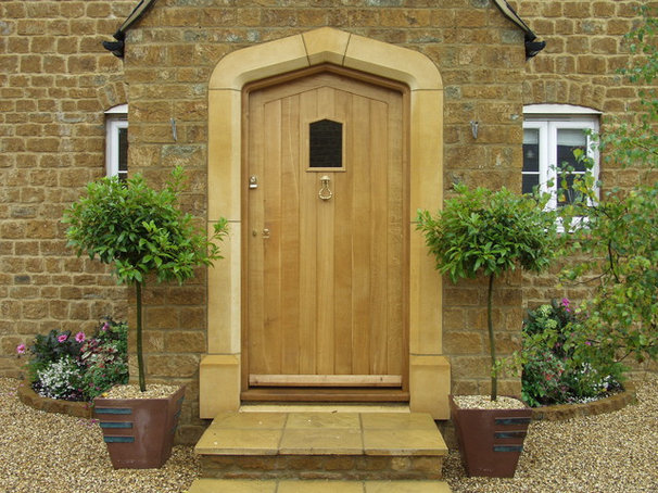 Rustic Entry by Britannia Joinery