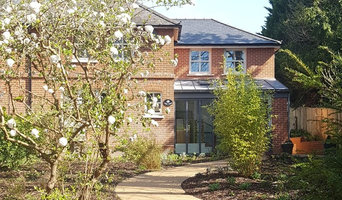 Semi-detached house two storey side extension, basement and garage.