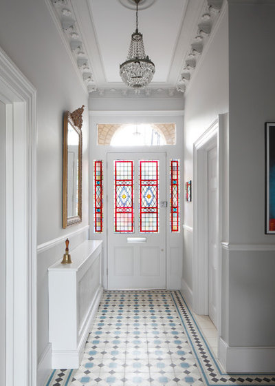 Traditional Entry by Robert Rhodes Architecture + Interiors