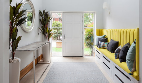 Simple Ways to Liven Up a Grey Hallway