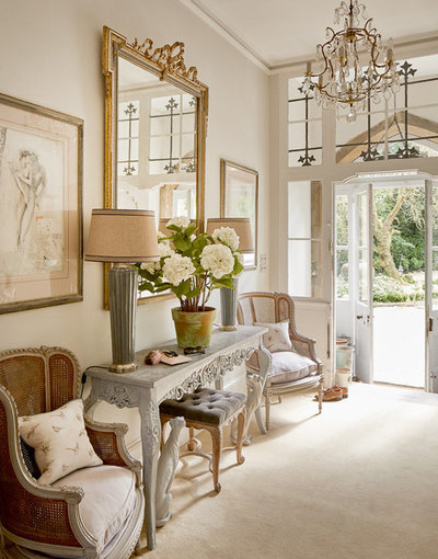 French Country Entrée by Jess Weeks Interiors