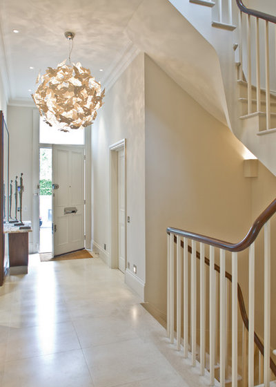 Contemporary Entry by Nash Baker Architects