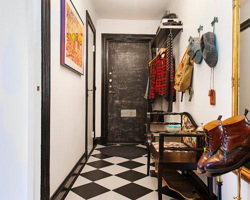 Foto e idee per ingressi e corridoi ingresso o corridoio con