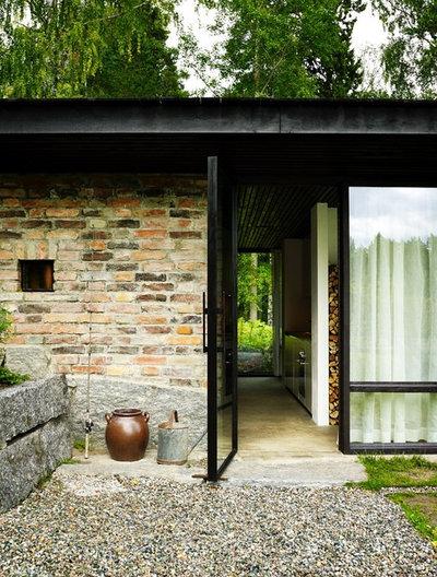 Rustikt Entré by Delin Arkitektkontor