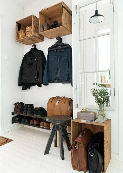 garderoben ideen f r flur und diele zum selber bauen. Black Bedroom Furniture Sets. Home Design Ideas