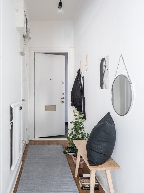 Foyer Minimalist Er : Scandinavian entryway design ideas remodels photos with