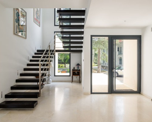 Entr e contemporaine photos et id es d co d 39 entr es de maison ou d 39 appartement for Entree maison contemporaine