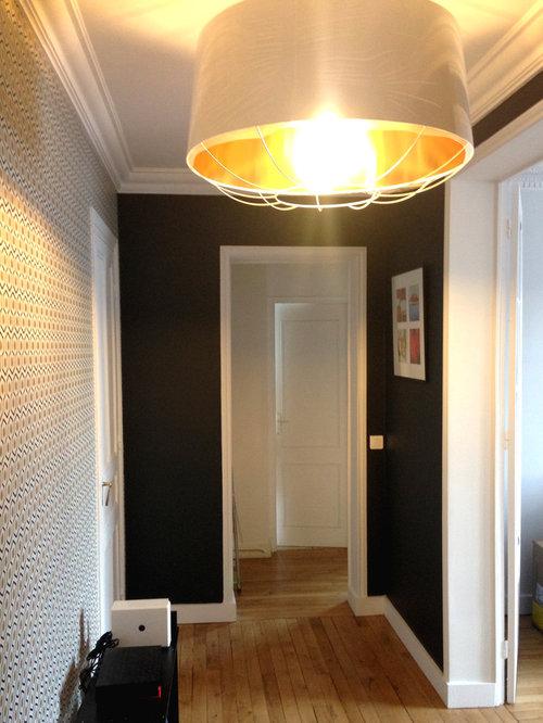 Entryway design ideas renovations photos with a double for Annabelle meuble