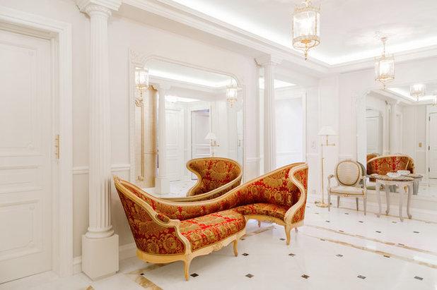 Classique Chic Entrée Appartement de Luxe - Triangle d'Or, Paris