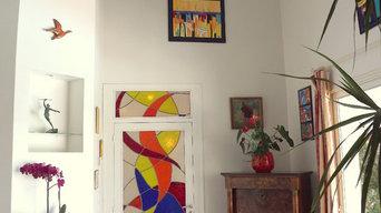 Création contemporaines vitraux d'art dazelle