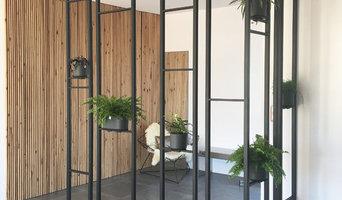 Création d'une claustra de séparation végétalisée