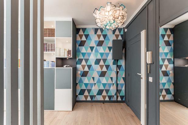 Contemporary Entry by Dovan Benitah- Interior Designer