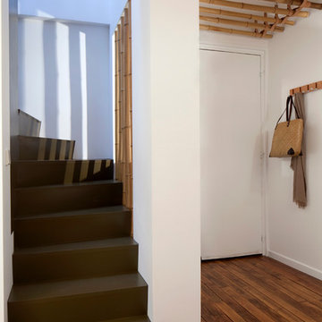 Duplex Neuilly Victor Hugo - entrée/escalier