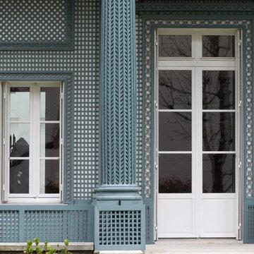 Fenêtres à Gueule de Loup - Paris 16