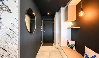 Hall d'entrée et meuble TV EMISO