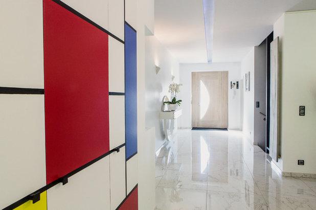 Pareti Color Tortora A Righe : Come abbinare i colori delle pareti e dei mobili