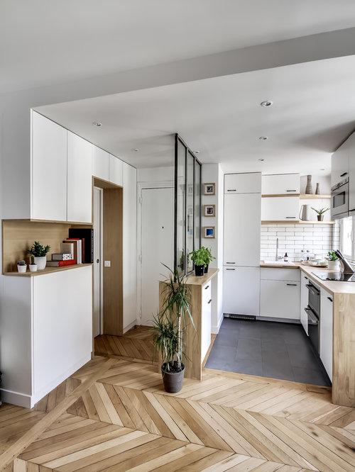 Scandinavian porte placard en bois foyer design ideas, renovations ...