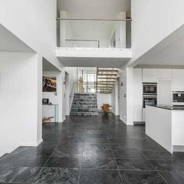 Maison d'architecte à toit plat