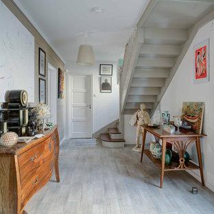 Entrée avec un couloir : Photos et idées déco d\'entrées de maison ou ...