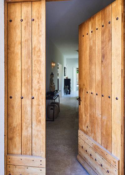 Contemporain Entrée by Agence POBA - Pierre Olivier Brèche Architectures